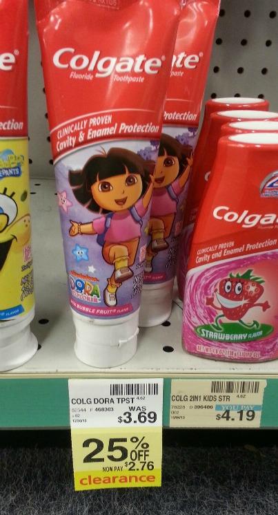 cvs clearance toothpaste