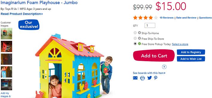 foam playhouse