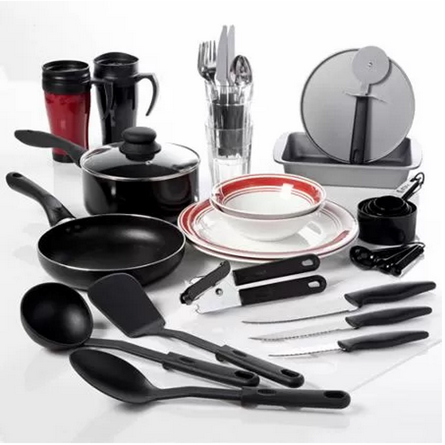 Complete 38 Pc Kitchen Set Only 29 97 Clearance Queens
